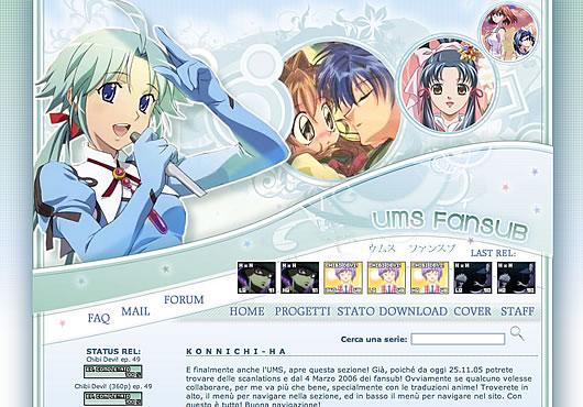 Su UMS fansub potrai trovare tantissime traduzioni gratuite di anime e manga giapponesi, sia shoujo che shounen, di cui potrai effettuare il download tramite i torrent del nostro tracker, usando i link diretti, via emule o semplicemente guardarli in streaming