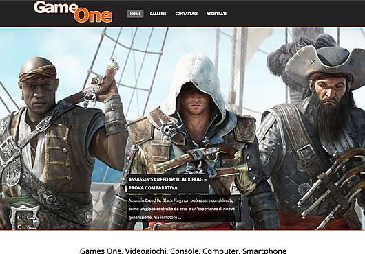 Games One, Videogiochi, Console, Computer, Smartphone