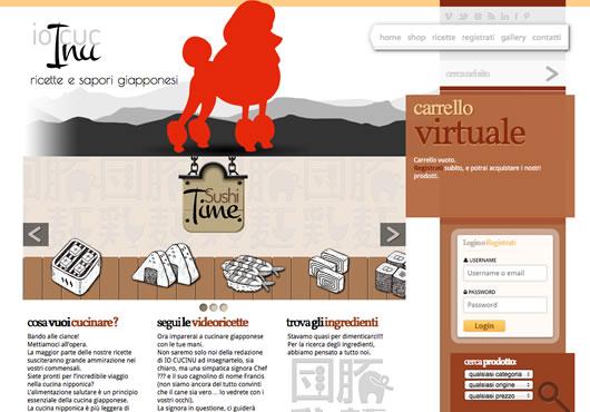 galleria dei siti web realizzati dagli alunni dell'accademia anja